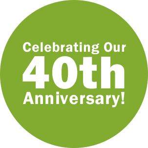 Celebrating our 40th anniversary!